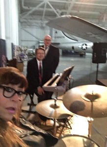 Dan Cerveny, Steve Thornburg & Mary Thornburg play SAC Museum Donor Dinner