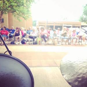Rockbrook Village Concert Go-ers