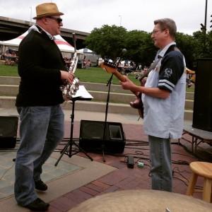 Steve Thornburg, Dave Cupak, Taste of Omaha