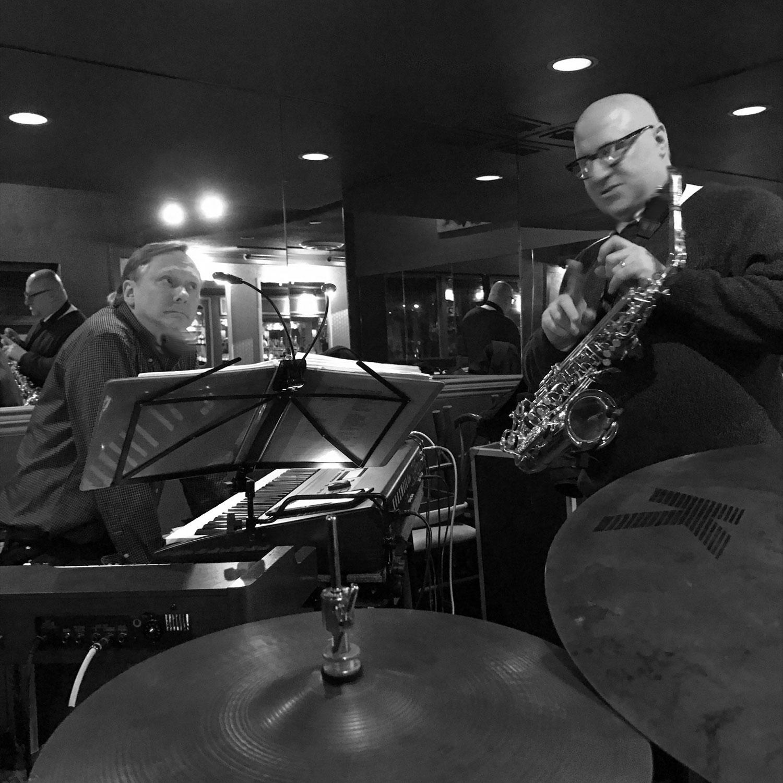 Steve Thornburg and Jim Williamson at Gorats